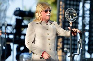 INDIO, CA - APRIL 13:  Maynard James Keenan of Puscifer performs onstage during day 2 of the 2013 Coachella Valley Music & Arts Festival at The Empire Polo Club on April 13, 2013 in Indio, California.  (Photo by Frazer Harrison/Getty Images for Coachella)