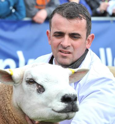 First day of the Balmoral Show in partnership with Ulster Bank at Balmoral Park. Pictured is Paul OConnell from Derry