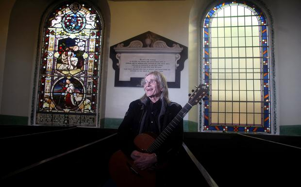 02.05.12. PICTURE BY DAVID FITZGERALD Henry McCullough pictured in Rosemary Street First Presbyterian Church