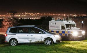 Two teenagers have been arrested following car chase in west Belfast ( Photo by Kevin Scott / Presseye )