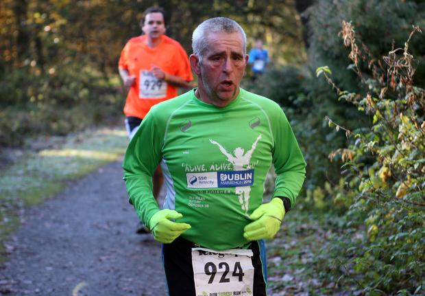Mandatory Credit - Picture by Freddie Parkinson/Press Eye © Saturday 19th November 2016 Belfast Telegraph Run Forest Run Drum Manor Forest Park, Drum Road, Cookstown BT80 9RT Mervyn Gregson Craigavon