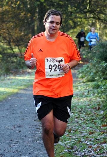 Mandatory Credit - Picture by Freddie Parkinson/Press Eye © Saturday 19th November 2016 Belfast Telegraph Run Forest Run Drum Manor Forest Park, Drum Road, Cookstown BT80 9RT David Hamilton Bleary