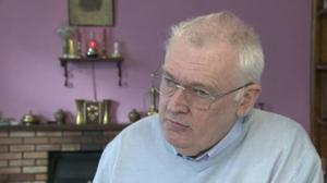 Terence Duffin was held at knifepoint and had his car stolen. Pic: BBC