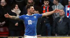 St Johnstone's Matty Kennedy was included in the Northern Ireland squad for the first time in October (Jane Barlow/PA)