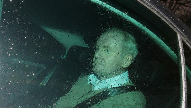 Sinn Fein former Deputy First Minister Martin McGuinness pictured leaving Stormont Castle in east Belfast after he resigned.   Picture by Jonathan Porter/PressEye.com