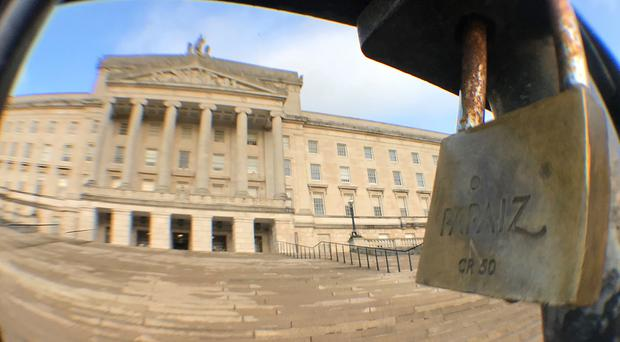 The Stormont Assembly imploded three years ago (Niall Carson/PA)