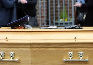 Adrian Ismay: Funeral for prison officer targeted in van bomb The funeral for prison officer Adrian Ismay who died following a dissident republican bomb attack. Mandatory Credit - Picture by Freddie Parkinson/Press Eye © Tuesday 22nd March 2016
