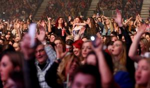 The crowd at Cool FM's Jingle Ball 2014 Picture Credit : Kevin Scott / Belfast Telegraph