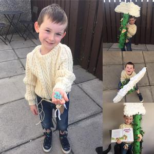 Josh McCormick (5) as Jack and The Beanstalk