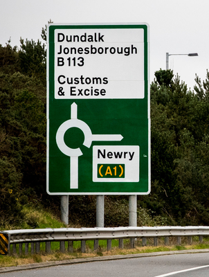 'It should come as no surprise to anyone that criminals will seek to take advantage of the porous border between Northern Ireland and the Republic.' (stock photo)