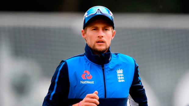 Confident: Joe Root has high hopes ahead of first Test