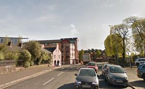 The section of the Lisburn Road near to where the incident happened / Credit: Google Maps