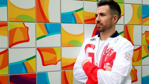 Paralympics GB Table tennis player Will Bayley poses for a photograph inside the Athletes Village ahead of the 2016 Rio Paralympic Games, Brazil. PRESS ASSOCIATION Photo. Picture date: Sunday September 4, 2016. Photo credit should read: Andrew Matthews/PA Wire. EDITORIAL USE ONLY