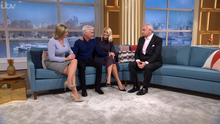 Phillip Schofield on ITV's This Morning with co-presenters Ruth Langsford, Holly Willoughby and Eamonn Holmes after his announcement that he is gay (ITV)