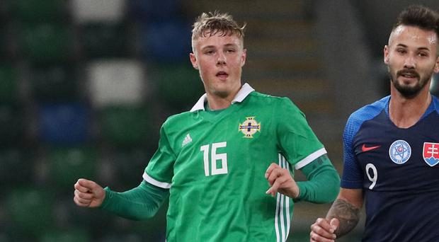 Daniel Ballard has earned his first call-up to the Northern Ireland senior squad.
