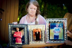 Patricia Ferrin speaks to Belfast Telegraph about the death of her three sons Stephen, Kieran  and Niall on September 21st 2017 (Photo by Kevin Scott / Belfast Telegraph)