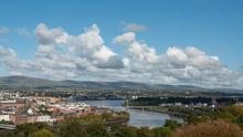 Londonderry has one of the highest rates of Covid-19 in the UK. Picture Martin McKeown.
