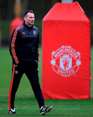 Red legend: Ryan Giggs is leaving Old Trafford after a glittering 29 years with Manchester United. Photo: Nick Potts/PA Wire.