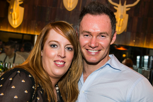 Wendy and Ryan Murray at The Cloth Ear, Belfast