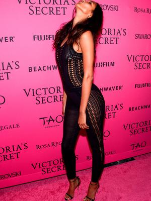 NEW YORK, NY - NOVEMBER 10:  Lais Ribeiro attends the 2015 Victoria's Secret Fashion After Party at TAO Downtown on November 10, 2015 in New York City.  (Photo by Grant Lamos IV/Getty Images)
