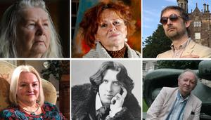 Some of the figures to feature in a new series of BBC programmes on the arts