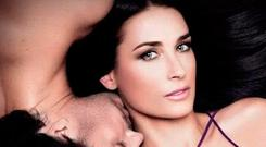 Model looks: Demi Moore starred in a new campaign for the cosmetics company started by Helena Rubinstein