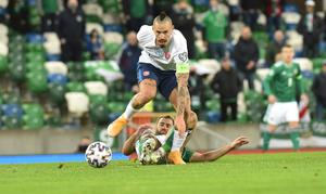 Marek Hamsik wasn't impressed with what he perceived a long ball tactics from Northern Ireland.