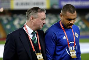 Josh Magennis is coming to terms with the likelihood he won't play international football under Michael O'Neill again