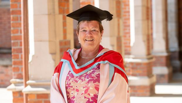 Siobhan Fitzpatrick CBE, Chief Executive of Early Years, was presented with an honorary doctorate by Queen's University Belfast for distinction in public service. Early Years is the largest organisation in Northern Ireland working with and for young children. Siobhan has played a key leadership role in relation to early years provision in Northern Ireland for over 30 years.