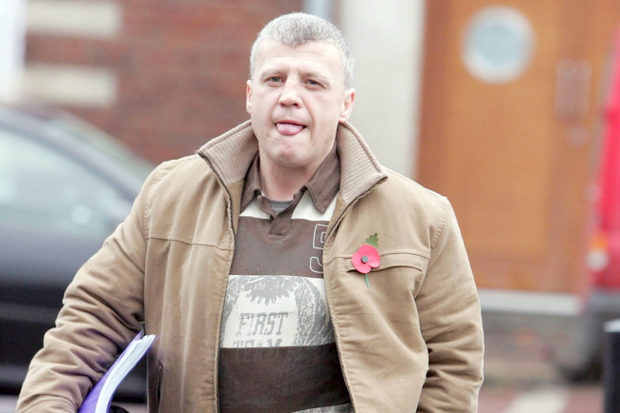 Loyalist William 'Mo' Courtney was found guilty of head-butting a woman during a confrontation over drugs. Pictured in 2005
