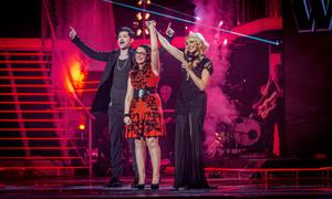 Picture Shows: Live Show Danny O'Donoghue, Andrea Begley, Holly Willoughby