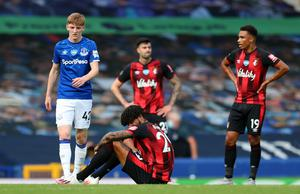 Bournemouth were relegated on the final day of the season despite beating Everton (Catherine Ivill/PA)