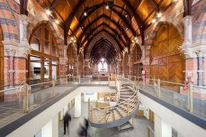 Best Conservation of Built Heritage JOINT WINNER.  The Graduate School at Queen's University Belfast by Consarc Design Group (Also won a RIBA Regional Award and a RIBA Regional Conservation Award)