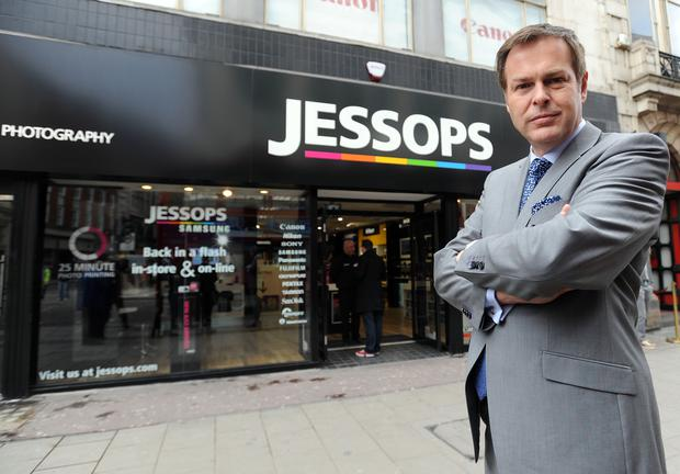 Dragons' Den star Peter Jones purchased the chain in 2013 (Nick Ansell/PA)