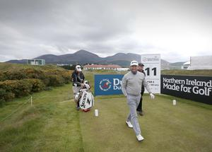Photographer ?Matt Mackey - Presseye.com  25th May 2015  Dubai Duty Free Irish Open at Royal County Down Golf Club, Newcastle, Northern Ireland.  Graeme McDowell.