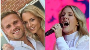 Ellie Goulding sang for the happy couple (For Better For Worse/PA)