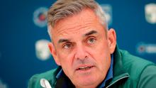 Hard drive: Paul McGinley wants to see golf's big hitting players curbed by rule makers