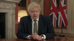 Prime Minister Boris Johnson addresses the nation (PA Video)