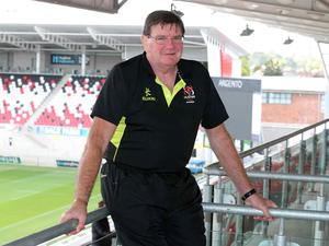 Ulster Academy and A team coach Willie Anderson