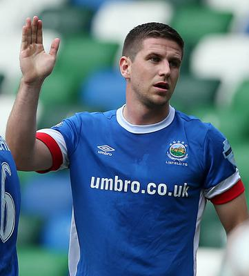 Resolve: Mark Haughey is sure Linfield will bounce back after defeat