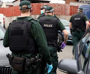 Police carried out a series of raids across Northern Ireland as part of Operation Venetic. Pic Pacemaker.