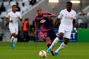 BORDEAUX, FRANCE - SEPTEMBER 17: Kolo Toure for Liverpool FC during the Europa League game between FC Girondins de Bordeaux and Liverpool FC at Matmut Atlantique Stadium on September 17, 2015 in Bordeaux, France.  (Photo by Romain Perrocheau/Getty Images)