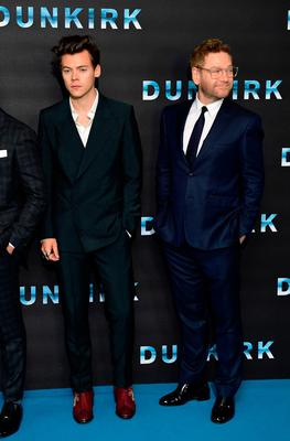 Harry Styles (left) and Sir Kenneth Branagh (right) attending the Dunkirk world premiere at the Odeon Leicester Square, London. PRESS ASSOCIATION Photo. Picture date: Thursday July 13, 2017. See PA story SHOWBIZ Dunkirk. Photo credit should read: Ian West/PA Wire