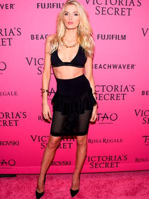 NEW YORK, NY - NOVEMBER 10:  Lily Donaldson attends the 2015 Victoria's Secret Fashion After Party at TAO Downtown on November 10, 2015 in New York City.  (Photo by Grant Lamos IV/Getty Images)