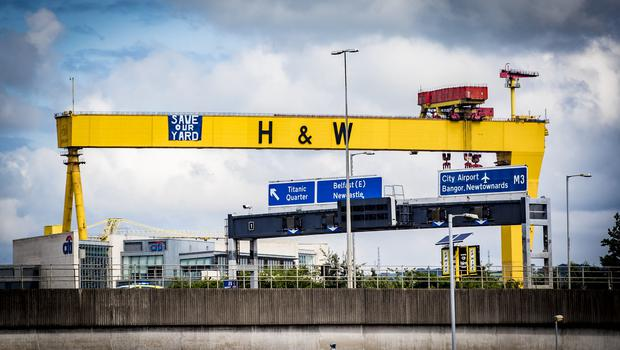 Workers staged a sit-in protest at the shipyard for weeks as part of a campaign to save one of Northern Ireland's biggest names in industry