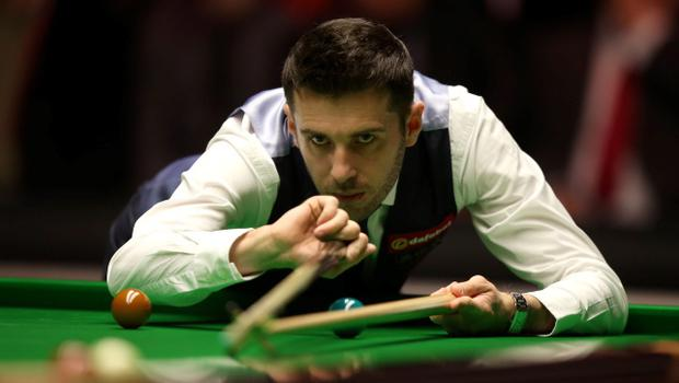 Mark Selby pots in his match against Ronnie O'Sullivan during the 2014 Dafabet Masters at Alexandra Palace, London. PRESS ASSOCIATION Photo. Picture date: Sunday January 19, 2014. See PA story SNOOKER Masters. Photo credit should read: John Walton/PA Wire