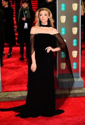 Natalie Dormer attending the EE British Academy Film Awards held at the Royal Albert Hall, Kensington Gore, Kensington, London.  PRESS ASSOCIATION Photo. Picture date: Sunday February 18, 2018. See PA Story SHOWBIZ Bafta. Photo credit should read: Ian West/PA Wire.
