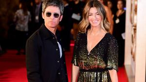 Noel Gallagher and Scottish wife Sara MacDonald (PA)