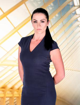 Grainne McCoy, one of the candidates in this year's BBC1 programme, The Apprentice.