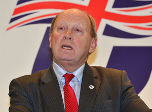 TUV leader Jim Allister, who has called on the BBC to reveal listener numbers. Photo: Arthur Allison/Pacemaker